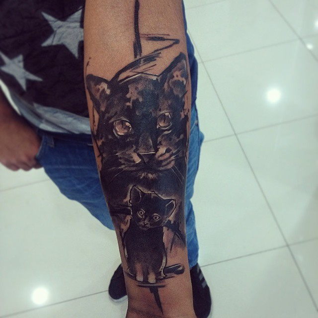 black cat tattoo31