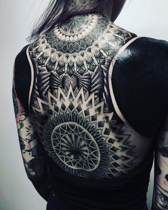 Blackwork Designs Tattoo