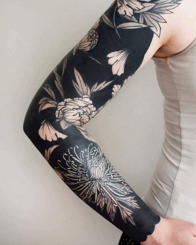 chrysanthemum tattoo12