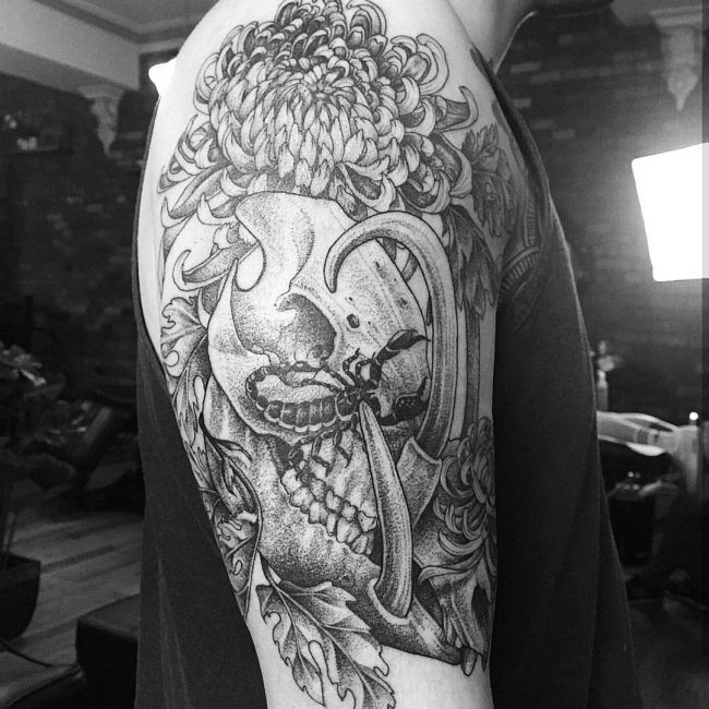 chrysanthemum tattoo18