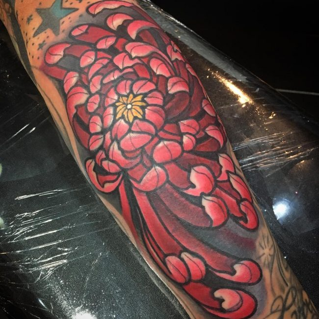 chrysanthemum tattoo20