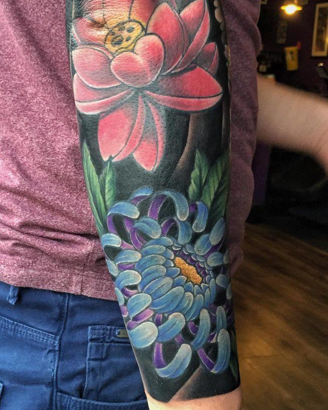 chrysanthemum tattoo30