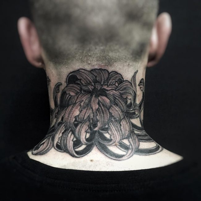 chrysanthemum tattoo37