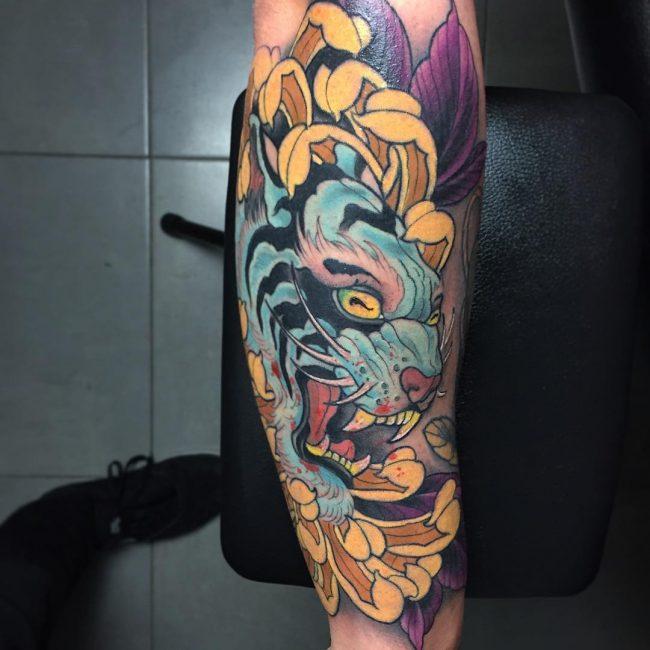 chrysanthemum tattoo42