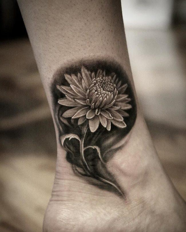 chrysanthemum tattoo45