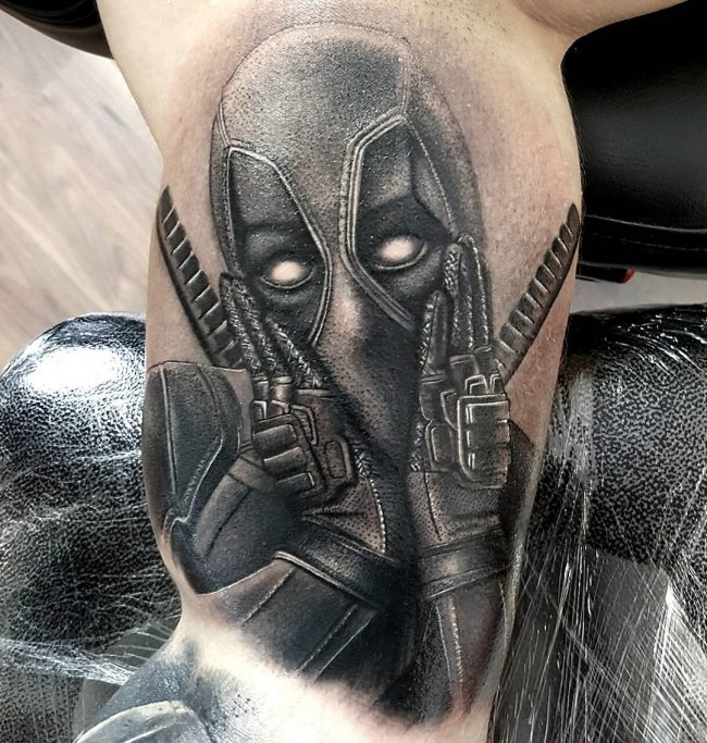 deadpool tattoo1