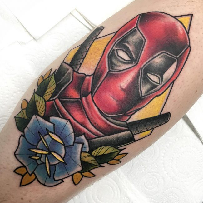 deadpool tattoo10