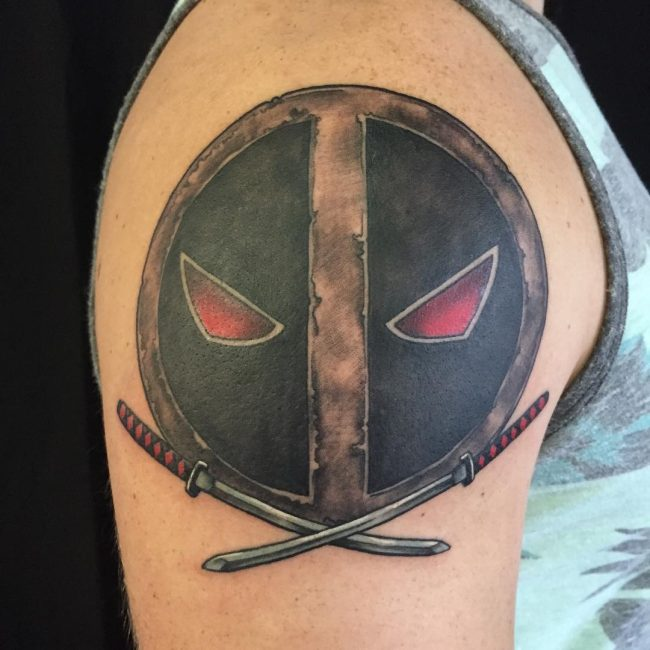 deadpool tattoo12