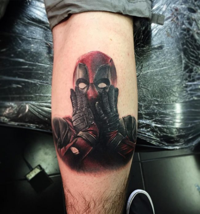 deadpool tattoo14