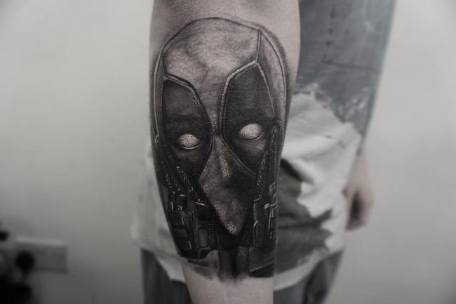 deadpool tattoo15