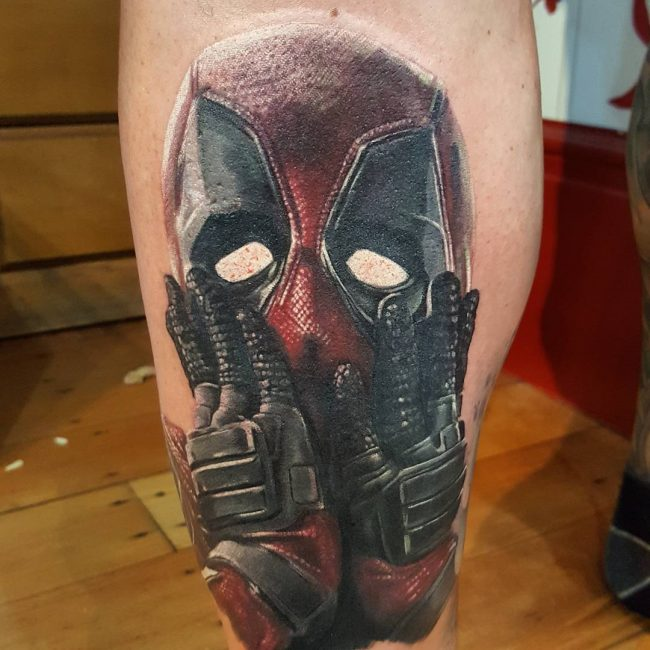 deadpool tattoo16