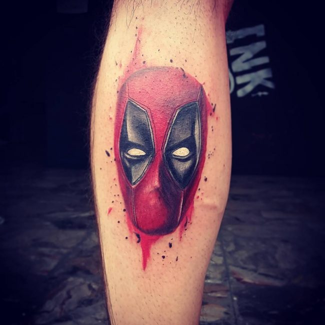 deadpool tattoo17