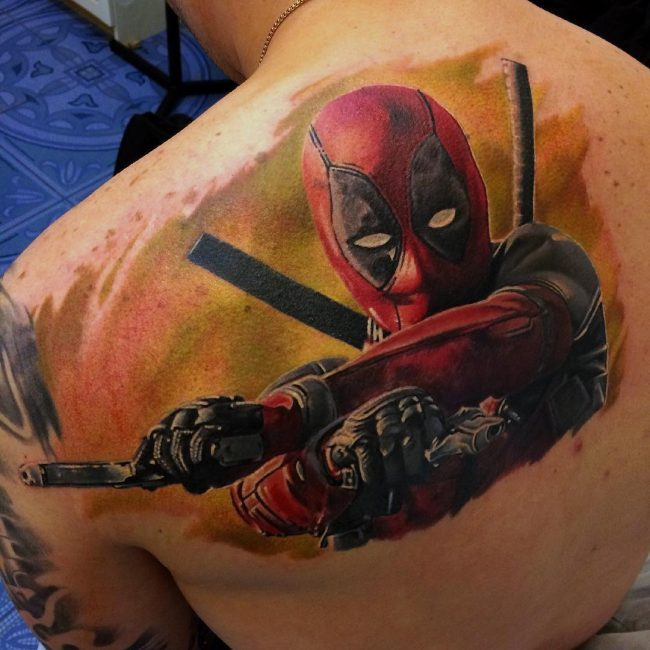 deadpool tattoo18