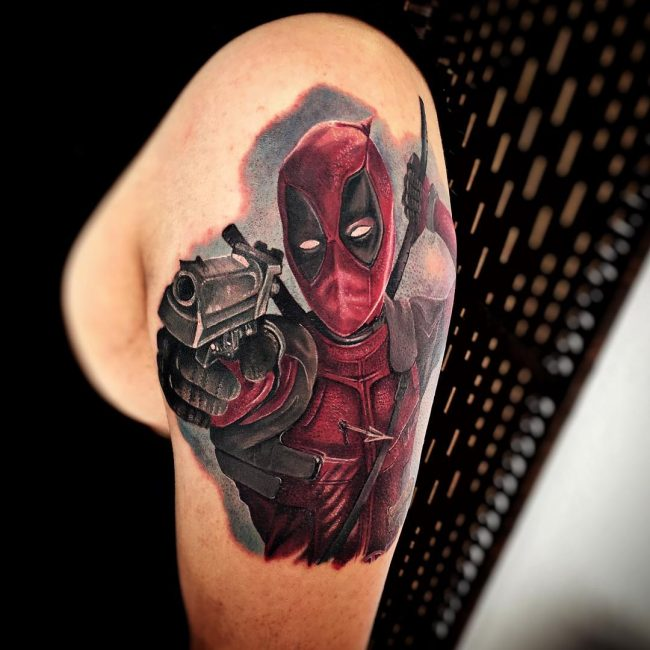 deadpool tattoo19