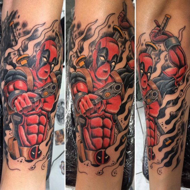 deadpool tattoo20