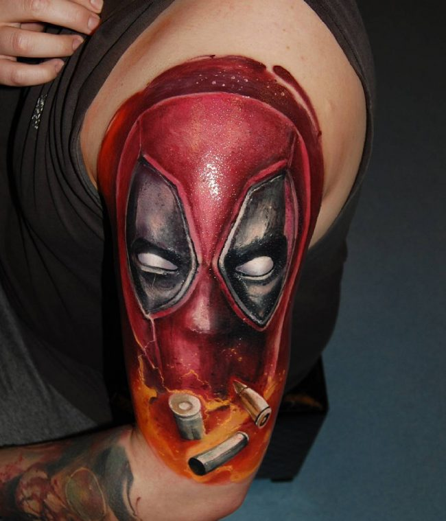 deadpool tattoo21
