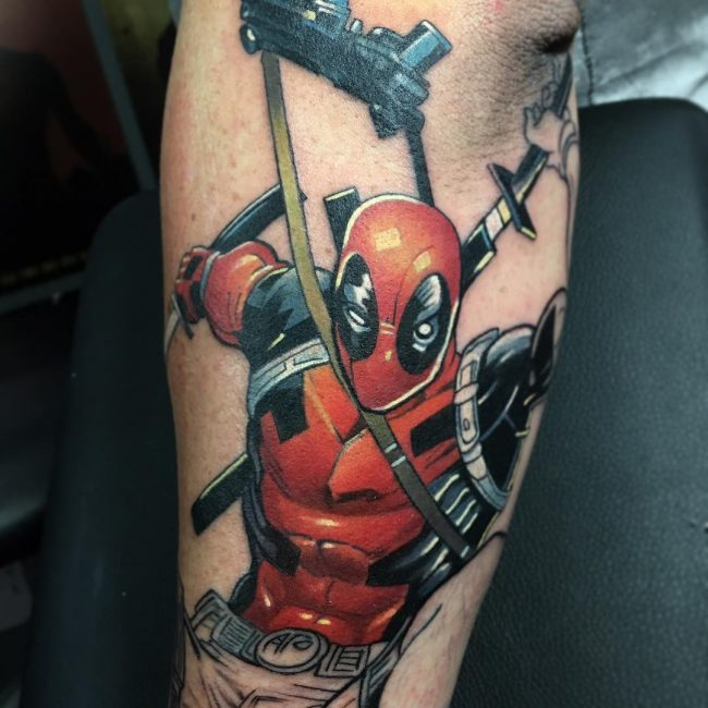 deadpool tattoo22
