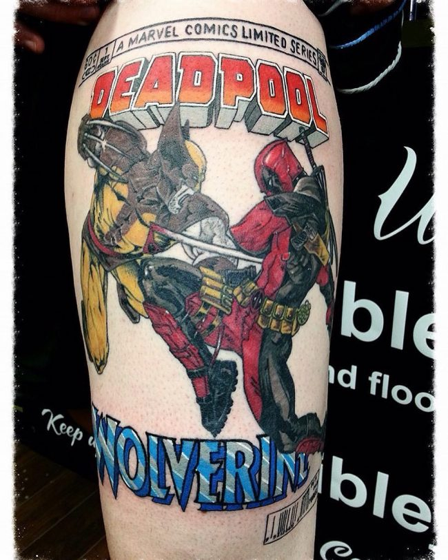 deadpool tattoo25