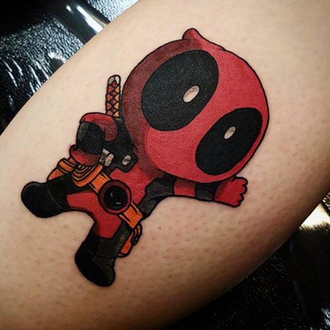 deadpool tattoo28
