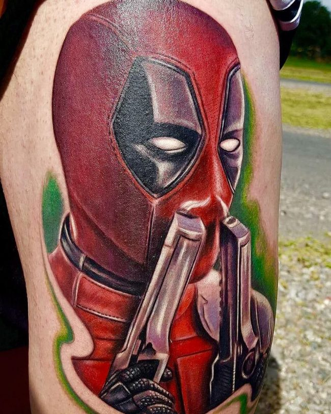 deadpool tattoo3
