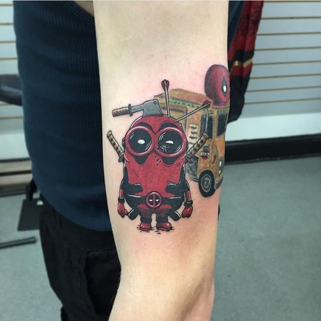 deadpool tattoo31