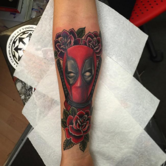 deadpool tattoo32