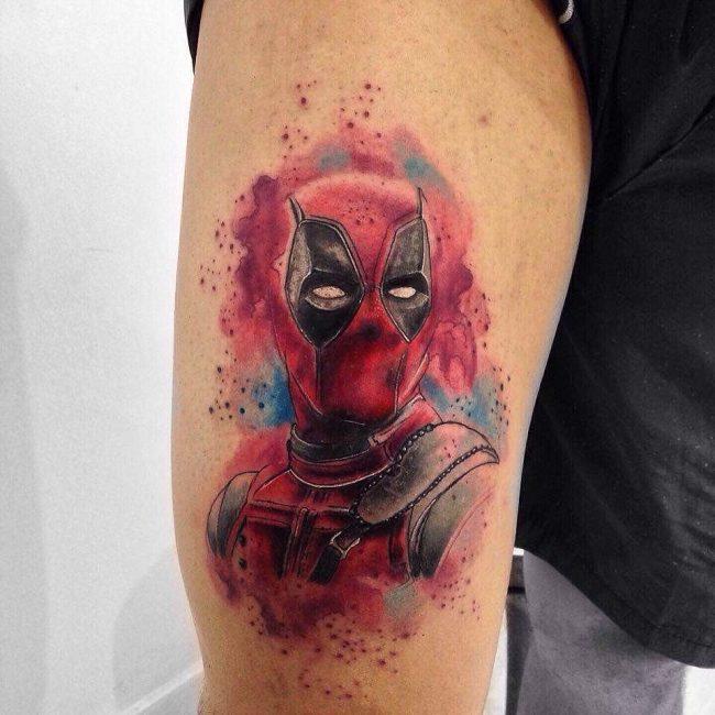 deadpool tattoo35