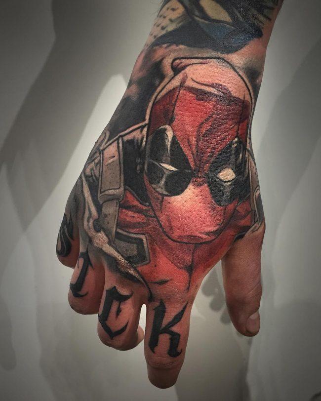 deadpool tattoo37