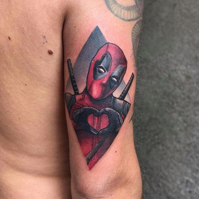 deadpool tattoo38