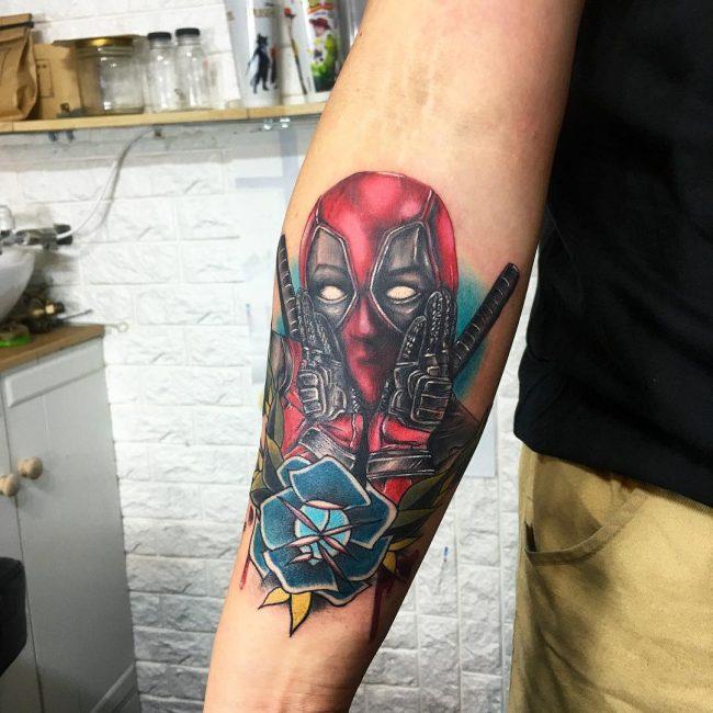 deadpool tattoo4