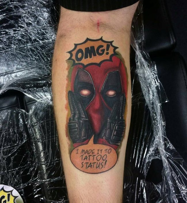 deadpool tattoo42