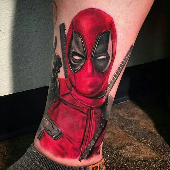 deadpool tattoo43