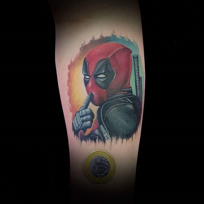 deadpool tattoo5