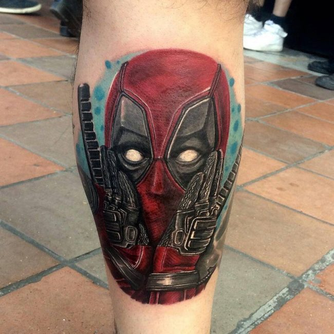deadpool tattoo7