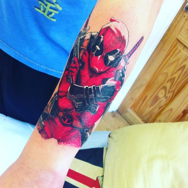 deadpool tattoo8