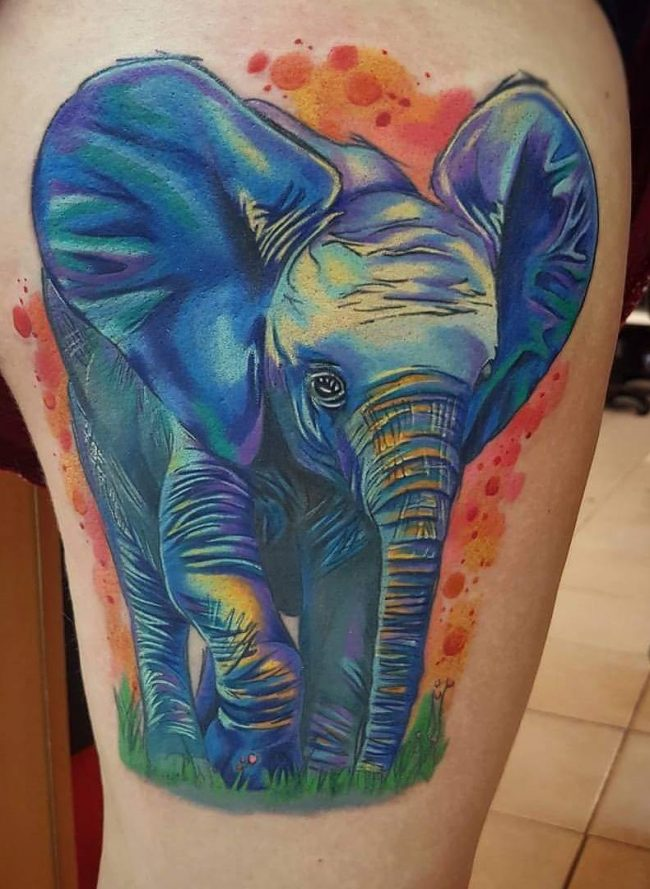125 Cool Elephant Tattoo Designs Deep Meaning And Symbolism