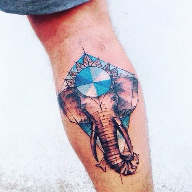 elephant tattoo13