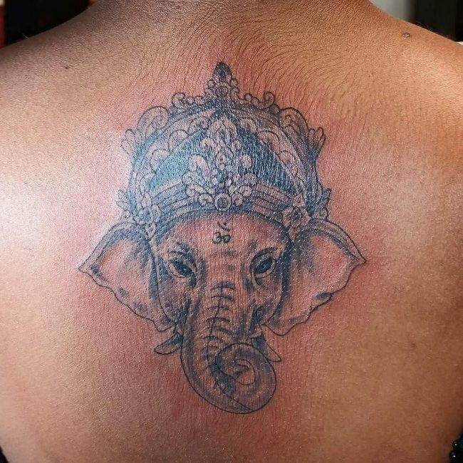 elephant tattoo6