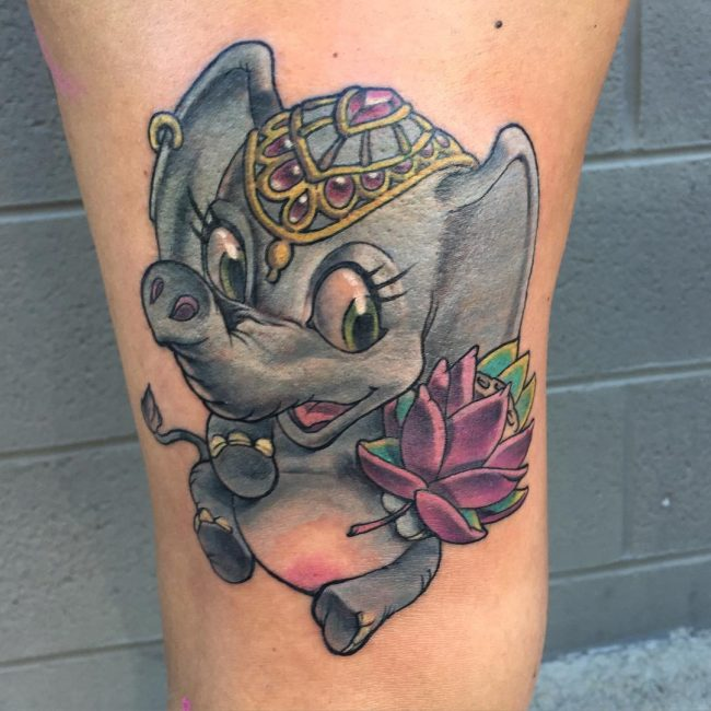 elephant tattoo67