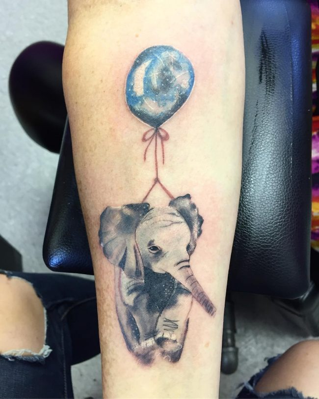 elephant tattoo82