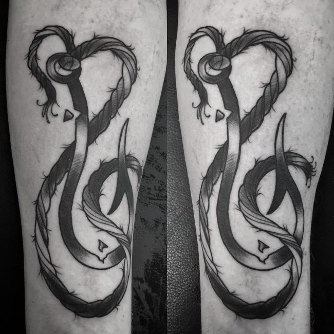 fish hook tattoo17