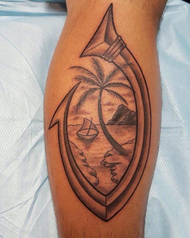 fish hook tattoo3