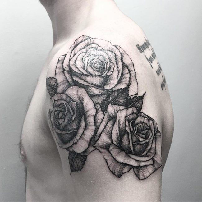 floral tattoo10