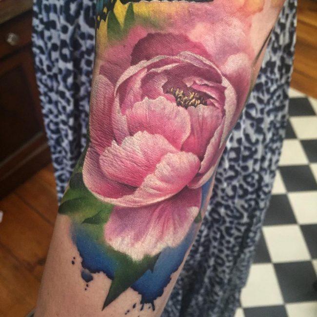 floral tattoo12