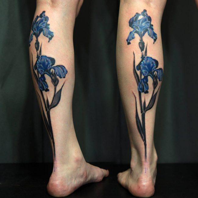 floral tattoo18