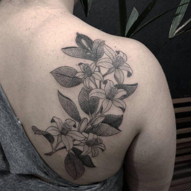 floral tattoo22