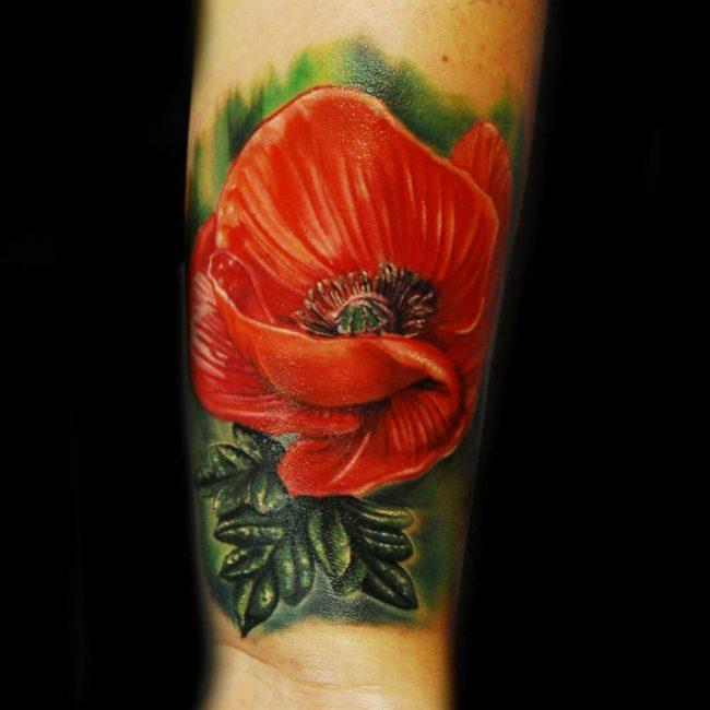 floral tattoo23