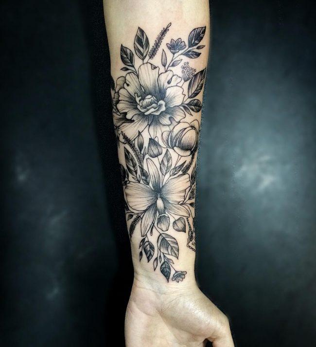 floral tattoo28