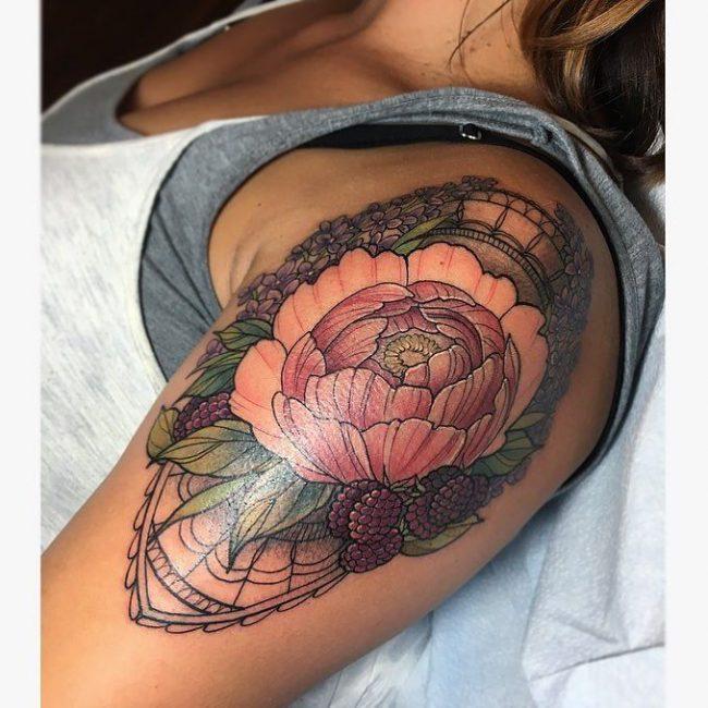floral tattoo29