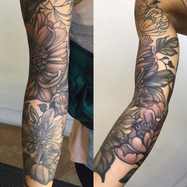 floral tattoo30